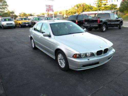 2002 bmw 530i for sale goddard auto sales pekin il. Black Bedroom Furniture Sets. Home Design Ideas
