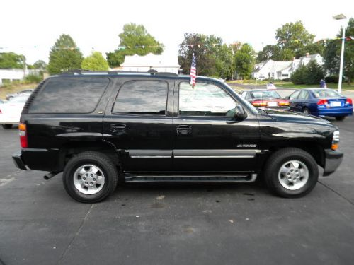 2002 chevrolet tahoe lt 4x4 for sale goddard auto sales pekin il. Black Bedroom Furniture Sets. Home Design Ideas