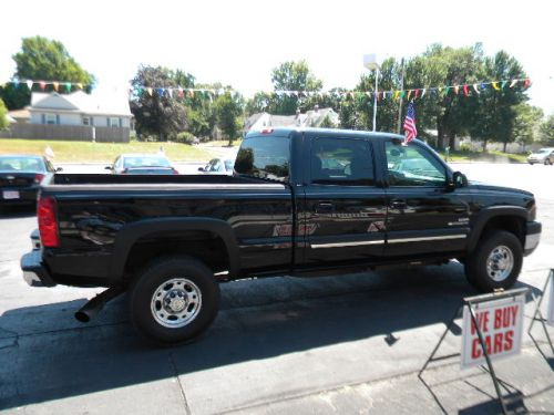 2003 chevrolet silverado 2500 crew cab for sale goddard auto sales pekin il. Black Bedroom Furniture Sets. Home Design Ideas