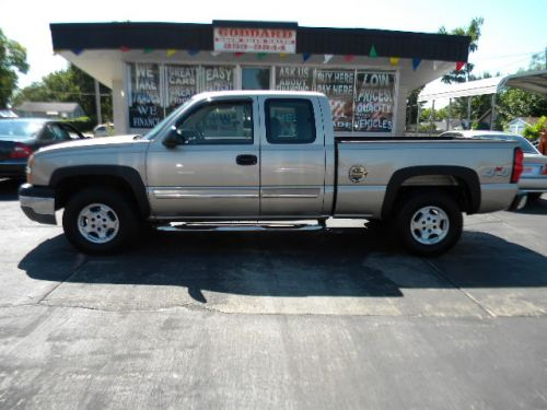 2004 Chevrolet Silverado Ext Cab 4x4 For Sale Goddard