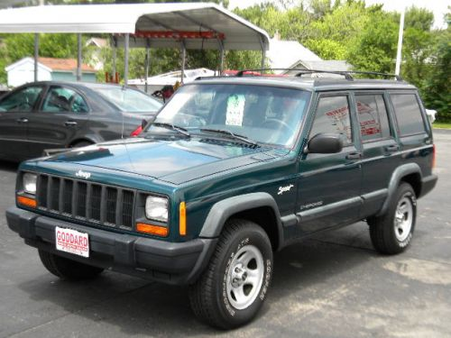 1998 jeep cherokee sport 4x4 for sale goddard used auto sales pekin. Cars Review. Best American Auto & Cars Review